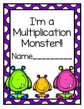 Multiplication Practice Booklet