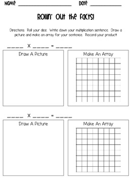 Multiplication Practice Bundle-Shakin' Up Multiplication Facts!