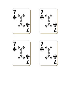 Multiplication Practice: Card Sharks