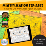 Multiplication Practice   Fall