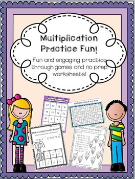 Multiplication Practice Fun!