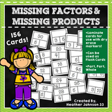 Multiplication Practice: Missing Factor & Missing Product Bundle