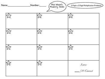 Multiplication Practice Multi-Digit