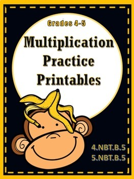 Multiplication Practice Printables