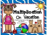 Multiplication Practice Packet {With QR Codes}