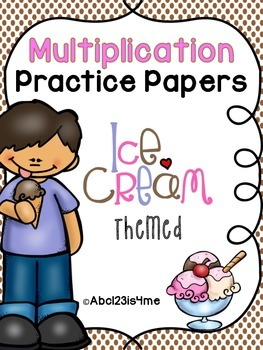 Multiplication Practice Papers