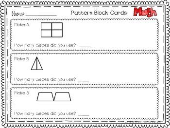 Multiplication Practice Pattern Work