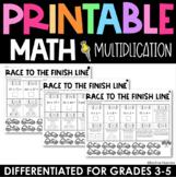 Multiplication Practice - Printable Test Prep
