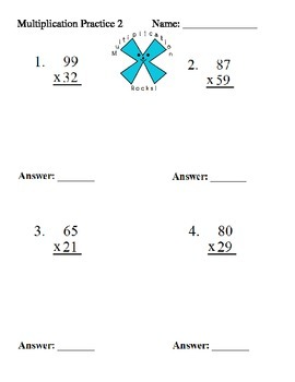 Multiplication Practice Problems