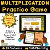 Multiplication Practice Pumpkin Patch Game - Distance Learning
