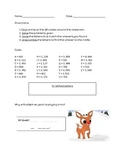 Multiplication Practice- QR Crack the Code