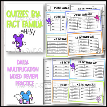 Multiplication Practice, Quizzes, Mixed Reviews, & Multiplication Certificate