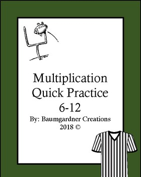 Multiplication Practice Sheets by Factor