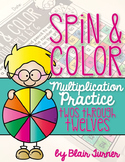 Multiplication Practice: Spin and Color