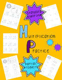 Multiplication Practice: Standard Algorithm & Partial Products