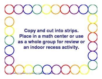 Multiplication Practice Strings