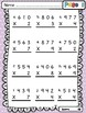 Multiplication Practice: Three Digit By 1 Digit Practice Sheets and Games