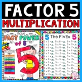 Multiplying by 5 | Multiplication Games for Fact Fluency