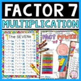 Multiplication Practice Times 7