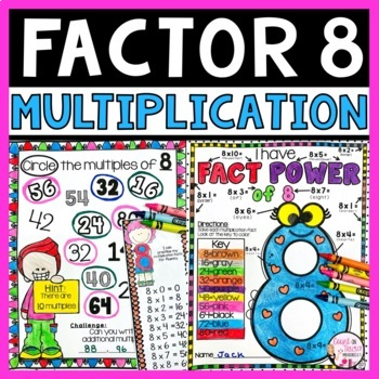 Multiplication Facts Times 8
