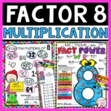 Multiply by 8 | Multiplication by 8 facts, multiply by 8 g