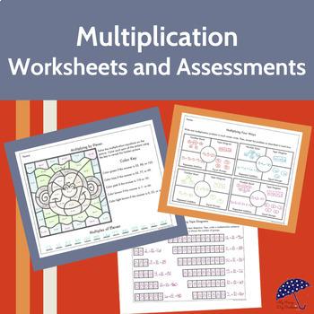 Multiplication Worksheets and Tests