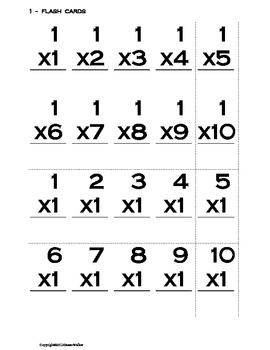Multiplication Practice and Tests