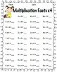 Multiplication Facts Practice: x0 through x12