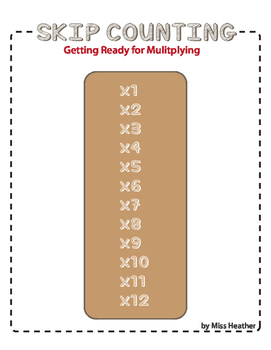 Multiplication Prep Packet