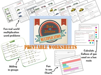 Multiplication Printable Worksheets and Activities for Thi
