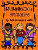 Multiplication Printables