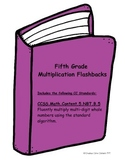Multiplication Printables--Common Core Aligned Flashbacks/
