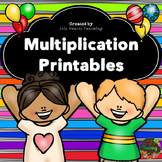 Multiplication Activities: Multiplication Worksheets and P