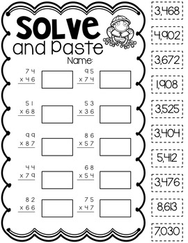 Multiplication Printables {Spring Edition}