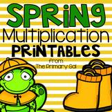 Multiplication Printables {Spring Edition}