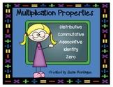 Multiplication Properties [Posters, Sort, and Flip Book]