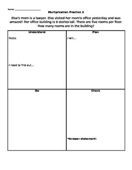 Multiplication Problem Solving 3