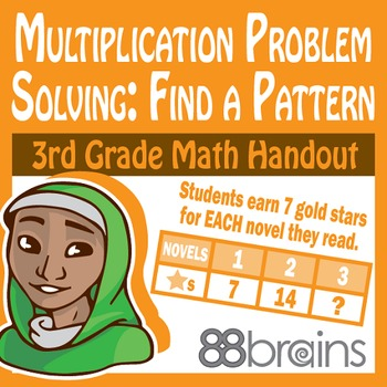 Multiplication Problem Solving: Find a Pattern pgs. 23-26 (CCSS)