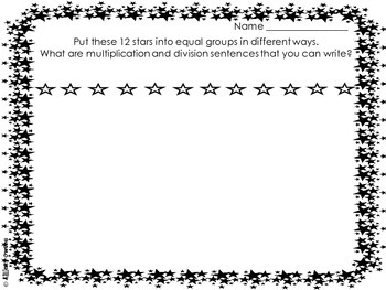 Multiplication Problem Solving Freebie