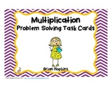 Multiplication Problem Solving Task Cards