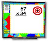 Multiplication Problems SMART BOARD Games