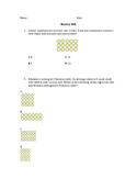 Multiplication Problems Using Arrays Exit Ticket TEK 3.5B