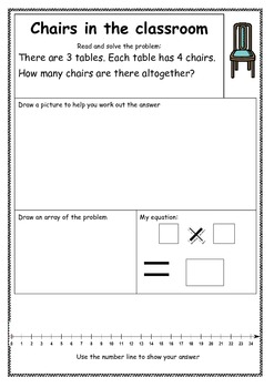 Multiplication Problems Worksheets