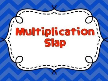 Multiplication Product 36 Slap