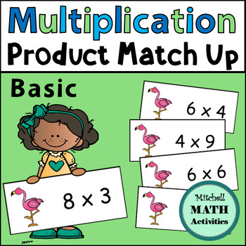 Multiplication Product Match Up (Basic Version)
