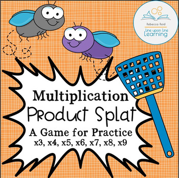 Times Tables Practice Game Multiplication Product Splat