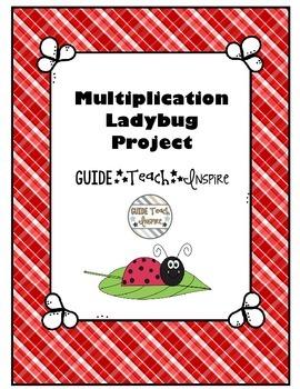 Multiplication Project Ladybug