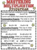 Multiplication Properties