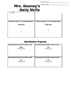 Multiplication Properties: Associative, Commutative, and Distributive