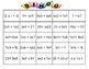 Multiplication Properties Bingo